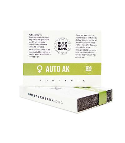 Семена сорта Auto Ak fem (Bulk Seed Bank)