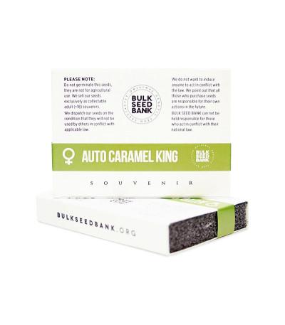 Семена сорта Auto Caramel King fem